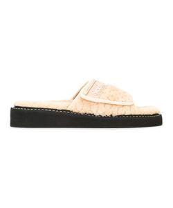 See By Chloe | See By Chloé Onda Slides 38 Artificial Fur/Rubber