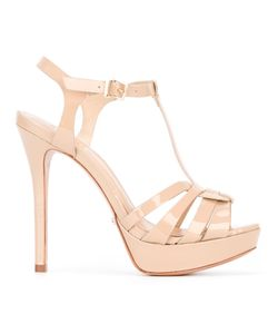 SCHUTZ   T-Bar Heeled Sandals Size 40