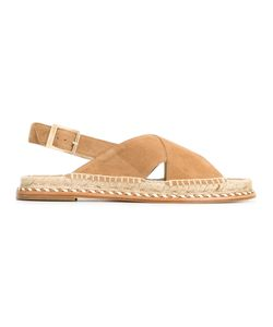 Paloma Barceló | Menton Sandals 40 Suede/Leather/Straw