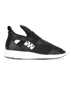 Y-3 | Elasticated Sneakers 6.5 Leather/Polyurethane/Rubber