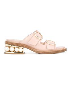 Nicholas Kirkwood | 35mm Casati Pearl Two-Strap Sandals Size 36