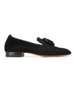 Santoni   Tassel Appliques Loafers 37