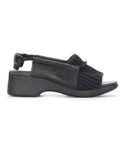 Camper | Ribbed Trim Sandals 37