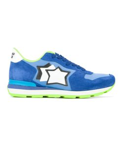 ATLANTIC STARS | Star Logo Lace-Up Sneakers Size 42 Chamois