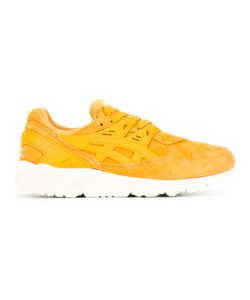 Asics | Contrast Lace Up Trainers 11.5 Suede/Polyester/Rubber