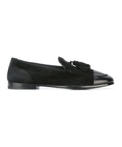 Alberto Fasciani | Classic Tasseled Loafers 43 Calf Leather/Suede/Leather