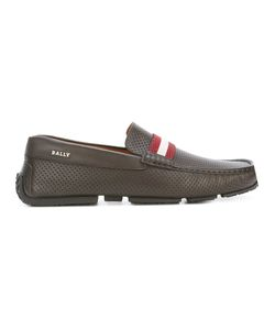 Bally   Perforated Loafers Size 9