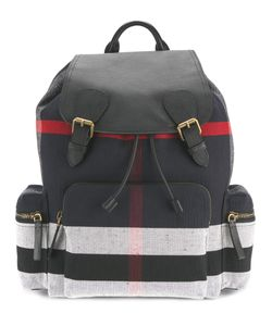 Burberry | Stripe Panel Backpack