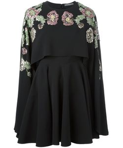 Alexander McQueen | Embellished Cape Dress