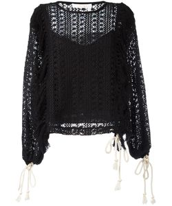See By Chloe | See By Chloé Crochet Blouse 38 Polyester/Cotton
