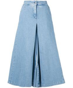 ANDREA YA'AQOV | Wide-Leg Cropped Jeans