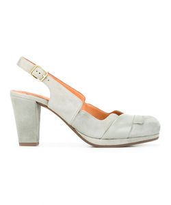 Chie Mihara | Sharpei Pumps 38.5 Calf Leather/Calf Suede/Rubber