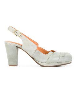 Chie Mihara | Sharpei Pumps 38.5 Calf Leather/Calf Suede/Rubber