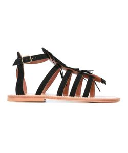 K. Jacques | Fregate Sandals 41 Leather/Suede