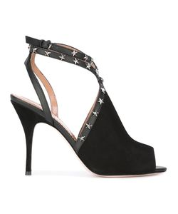 Red Valentino | Stud Stiletto Sandals 37.5 Goat Skin/Leather