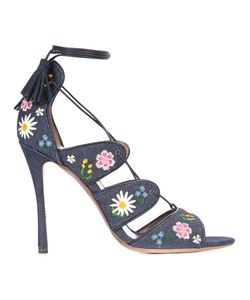 Tabitha Simmons | Embroidery Honor Sandals Calf