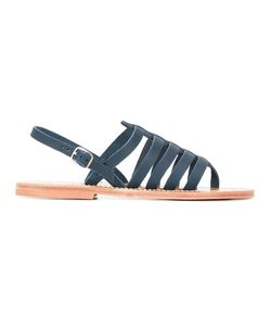 K. Jacques | Homer Strappy Sandals 38 Leather
