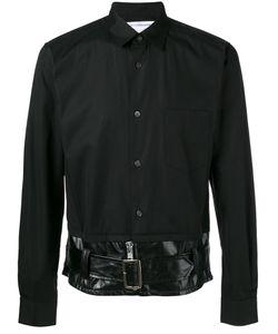 Comme Des Garcons | Comme Des Garçons Shirt Belted Hem Shirt Size Medium