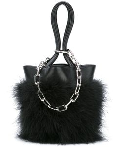 Alexander Wang | Feather Trim Chain Tote