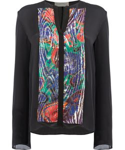 Maison Rabih Kayrouz | Embellished Shirt 38 Silk/Polyester Fibre