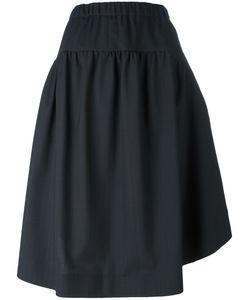 COMME DES GARCONS COMME DES GARCONS | Comme Des Garçons Comme Des Garçons Pinstripe Wide Skirt Size