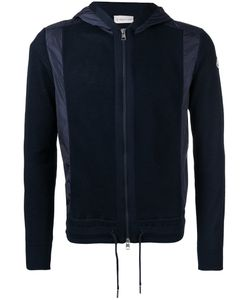 Moncler | Knitted Contrast Panel Hoodie Size Xl