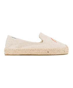 Soludos | Rainbow Embroidered Espadrilles 9