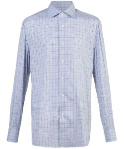 Isaia | Plaid Shirt Men 15 1/2
