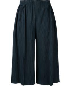 Issey Miyake Cauliflower | A-Poc Pleats 3 Cropped Wide Pants