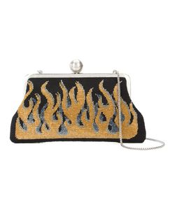 Sarah's Bag | Flame Embroidered Clutch Women