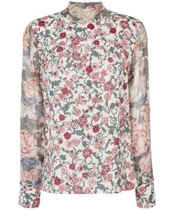 See By Chloe | Print Neck Tie Blouse