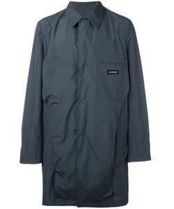 Jil Sander | Single-Breasted Coat 50 Polyester
