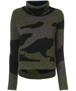 Veronica Beard | Camouflage Pattern Jumper Women