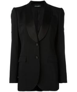 Dolce & Gabbana | Classic Blazer 42 Virgin Wool/Silk/Spandex/Elastane