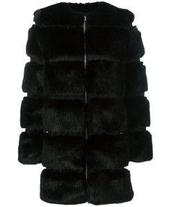 Givenchy | Round Neck Faux-Fur Coat Size 38
