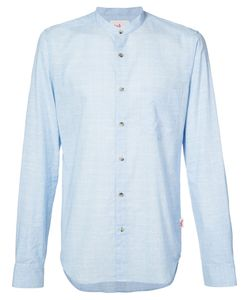 ORLEY | Classic Band Collar Shirt