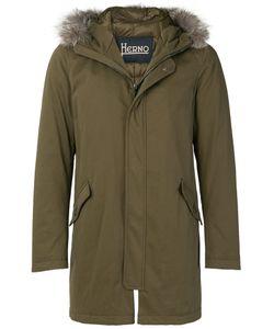 Herno | Стеганое Пальто Средней Длины
