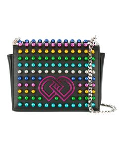 Dsquared2 | Medium Dd Studded Crossbody Bag Calf