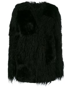 RTA | Fur Effect Coat Xs Acrylic/Modacrylic/Cotton/Polyester