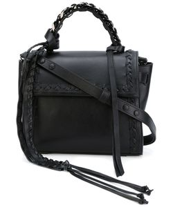 Elena Ghisellini | Boho Frill Angel Tote Leather/Metal Other