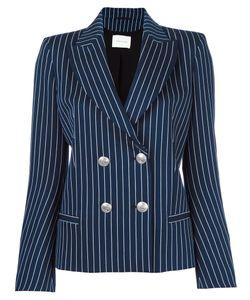 Pierre Balmain | Double Breasted Blazer 42 Cotton/Polyamide/Spandex/Elastane/Spandex/Elastane