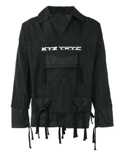 Ktz | Embroidered Gathered Pocket Jacket Size Small