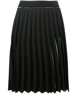 SSHEENA | Sheer Pleated Skirt 42 Polyester/Viscose/Polyamide