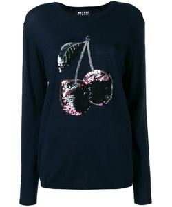 Markus Lupfer | Sequin Cherry Embroidered Jumper Size Large