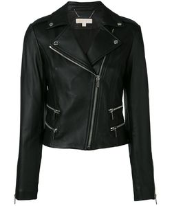Michael Michael Kors | Classic Biker Jacket Size Medium Lamb