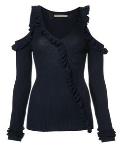 Jason Wu | Cut-Out Ruffle Jumper Size Small