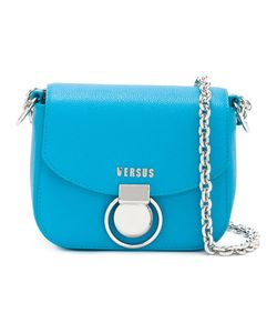 Versus | Chain Strap Shoulder Bag Calf Leather/Metal/Cotton