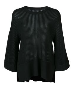 Derek Lam | Ribbed Loose-Fit Blouse