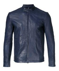 KAZUYUKI KUMAGAI | Enclosed-Zip Leather Jacket 2 Lamb Skin