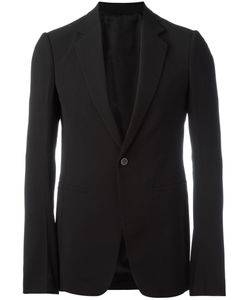 Rick Owens | One Button Blazer 52 Virgin Wool/Viscose/Cupro